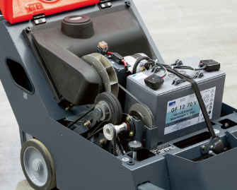 Sweepmaster 650 Batterieantrieb
