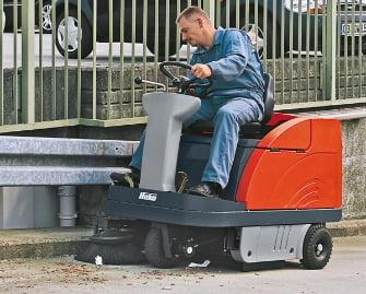 Sweepmaster 900 R Arbeitssicherheit