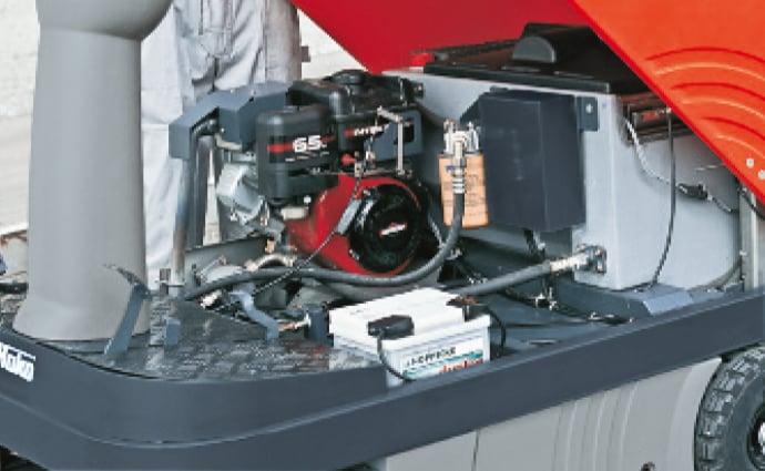 Sweepmaster 900 R Motor