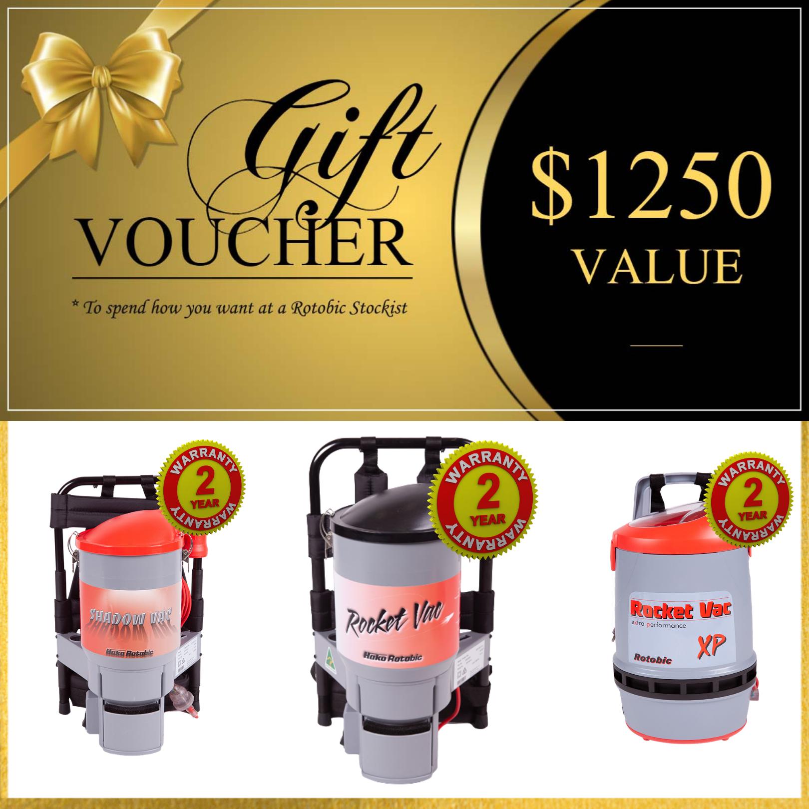 Gift voucher 2 year warranty IG post