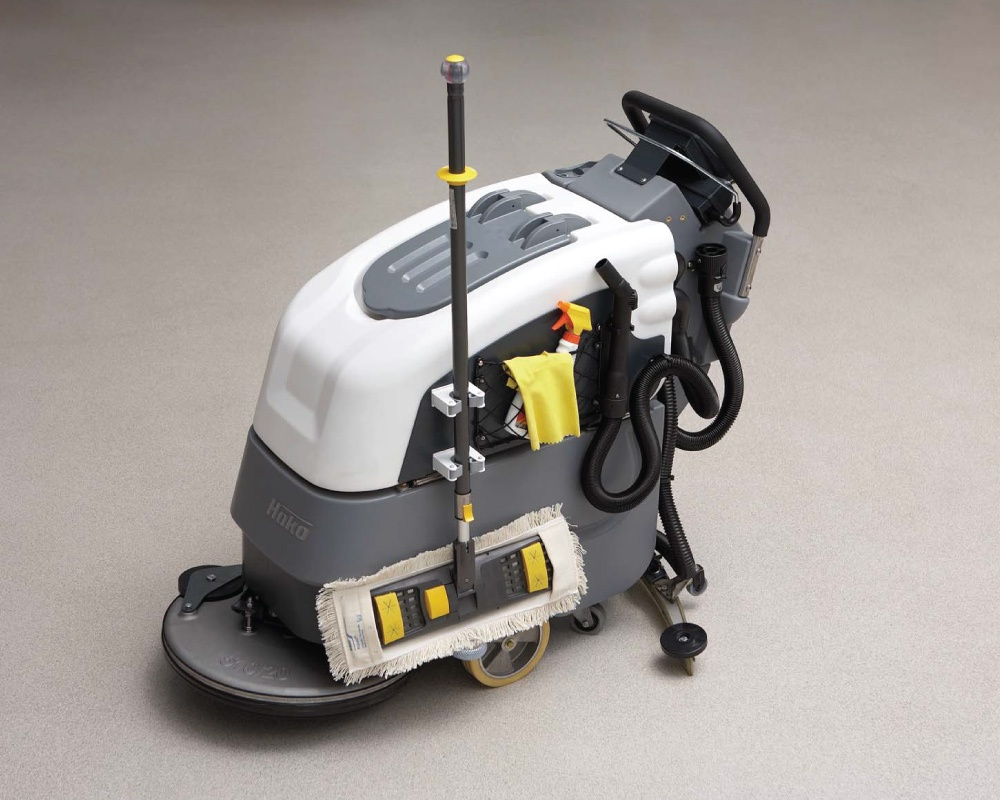 Scrubmaster AntiBac B45CL Industrial Battery Electric Floor Scrubber - 51cm