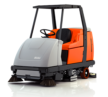 Scrubmaster B310 R Industrial Battery Electric Ride-on Floor Scrubber or Scrubber/Sweeper