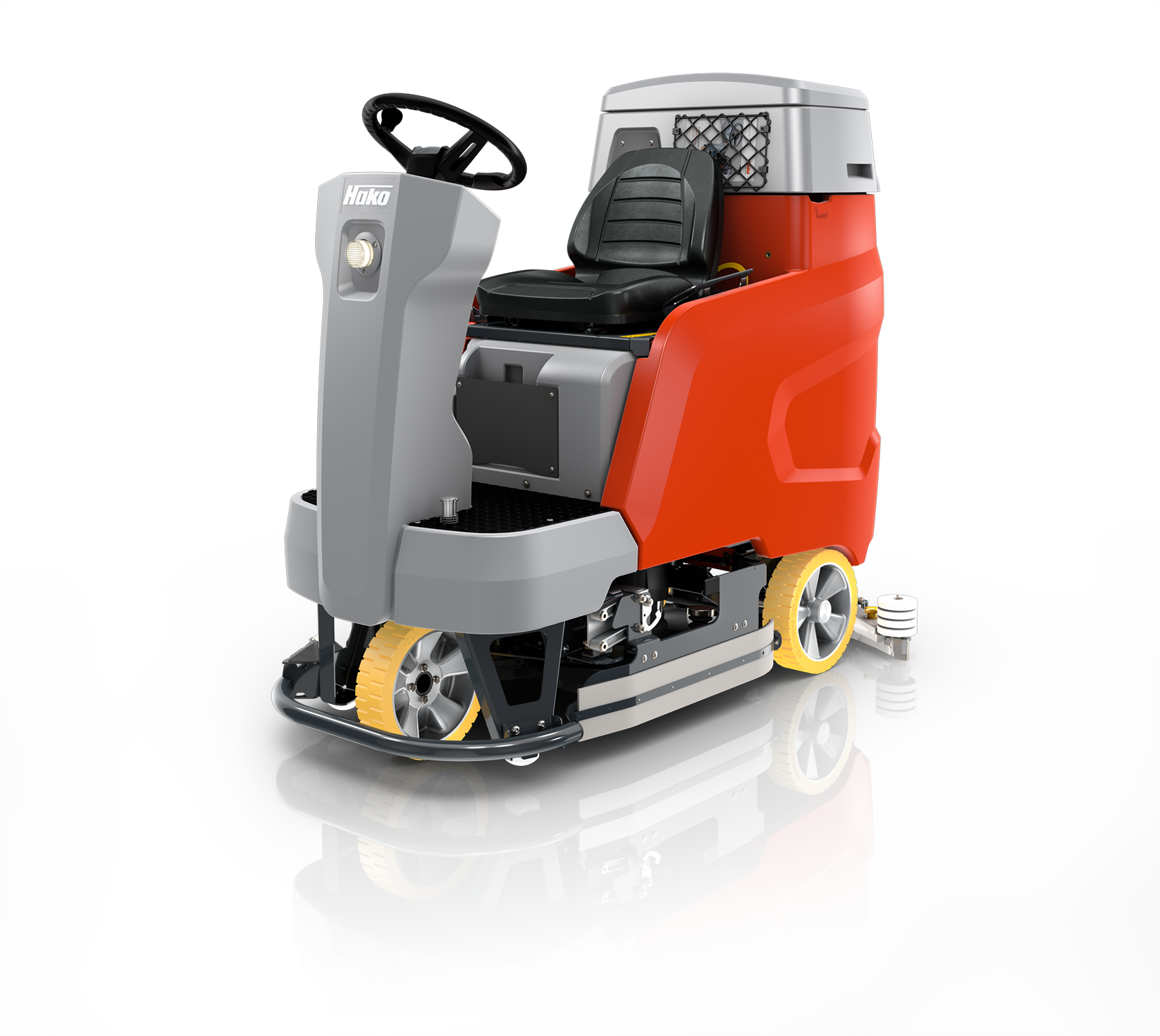 Scrubmaster B120 R Industrial Battery Electric Ride-on Floor Scrubber