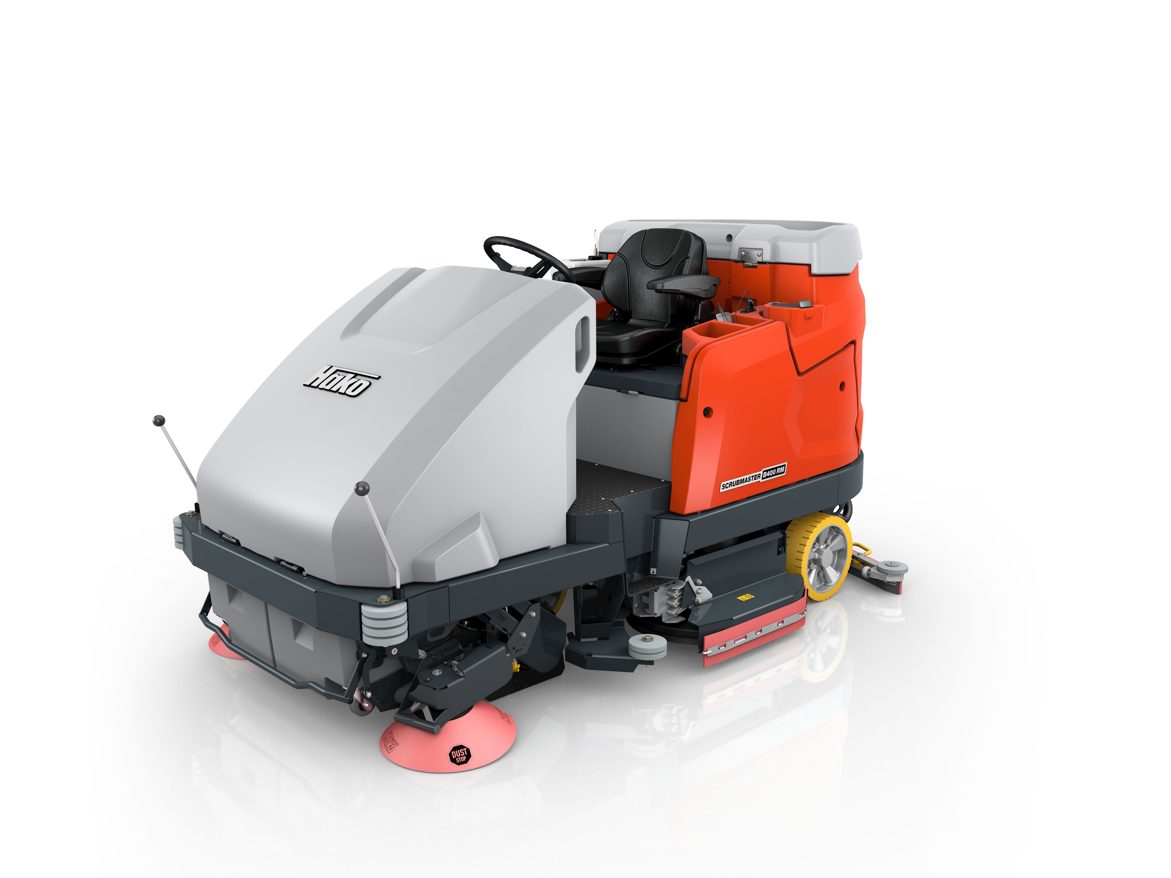 Scrubmaster B400 RM Vacuum sweeper and scrubber-drier combi machine for manual emptying