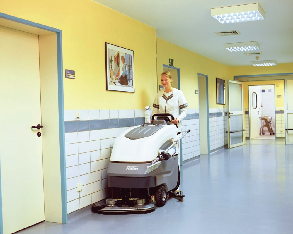 Scrubmaster AntiBac B70 CL Industrial Floor Scrubber - 65cm-85cm