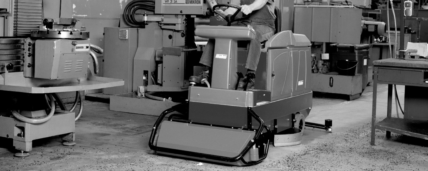 Scrubmaster B140 R Industrial Ride-on Floor Scrubber