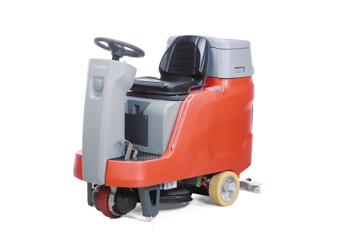 Scrubmaster B75 R Compact Ride-on Floor Scrubber