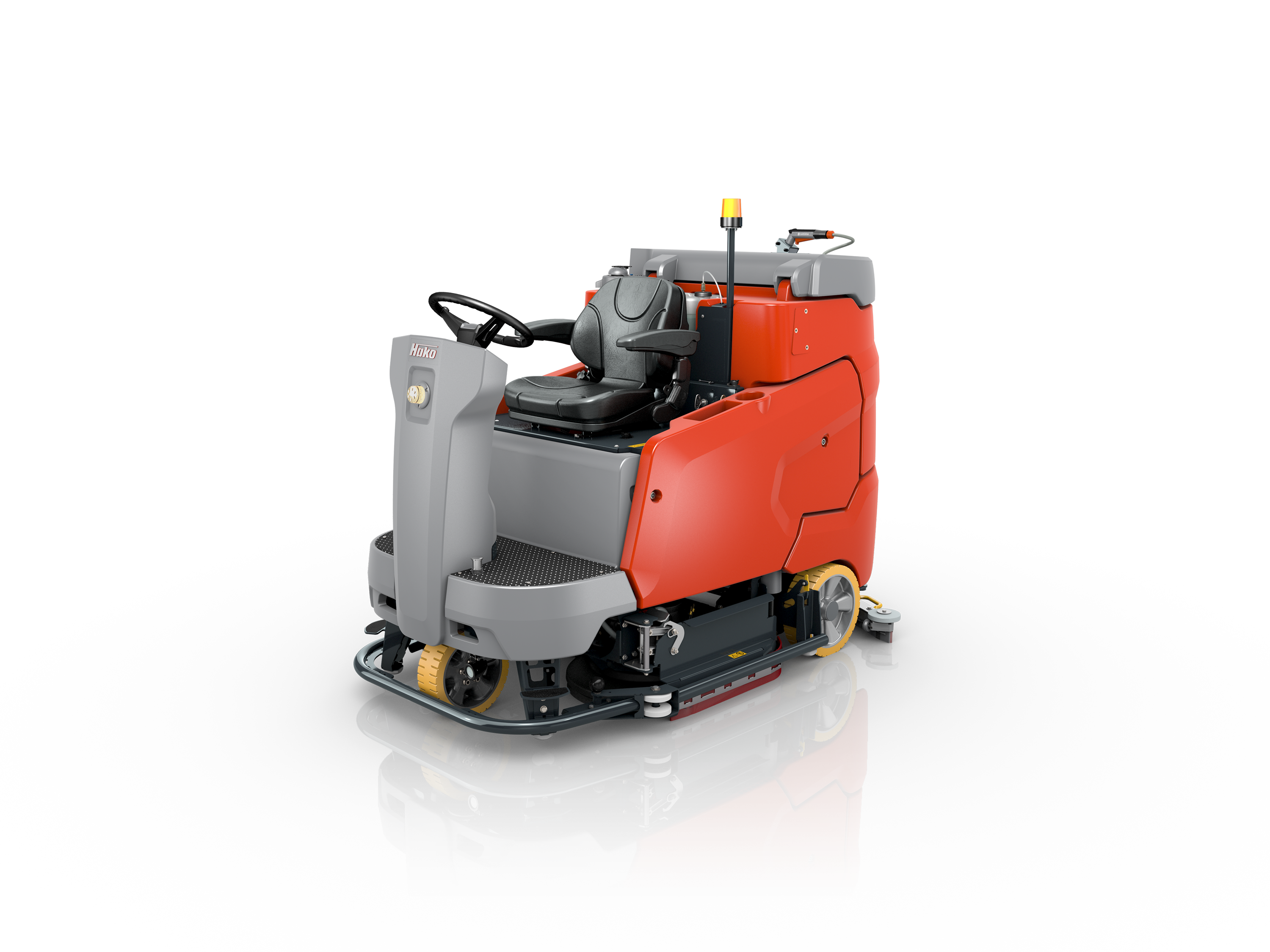 Scrubmaster B260 R Industrial Battery Electric Ride-on Floor Scrubber