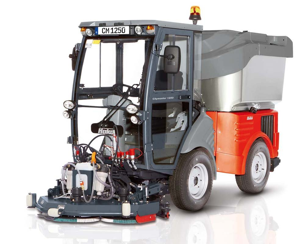 Citymaster 1250 Scrubber Sweeper