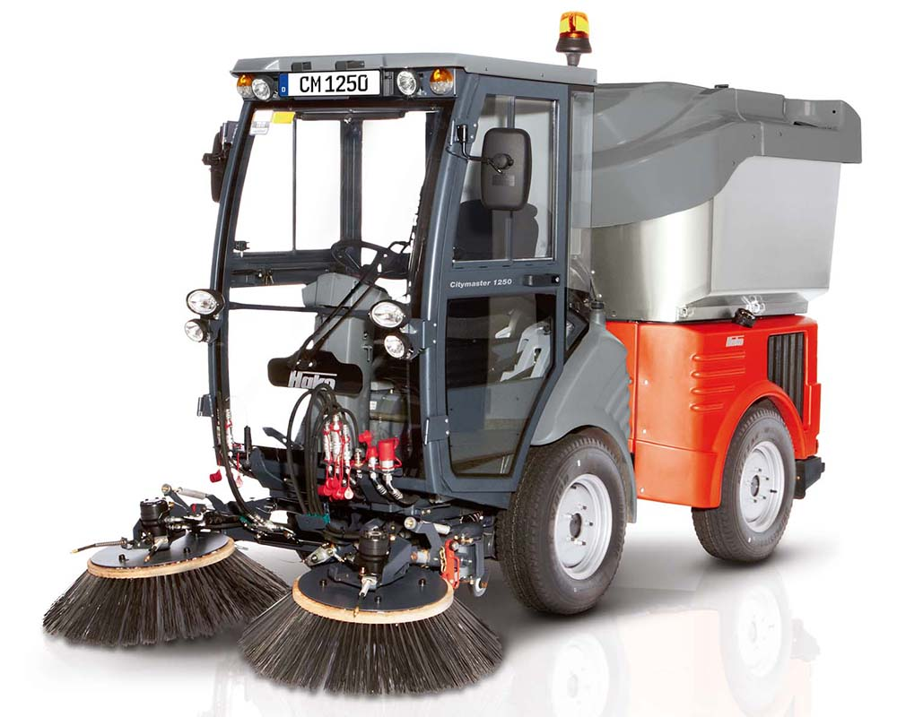 Citymaster 1250 Compact Footpath Scrubber Sweeper