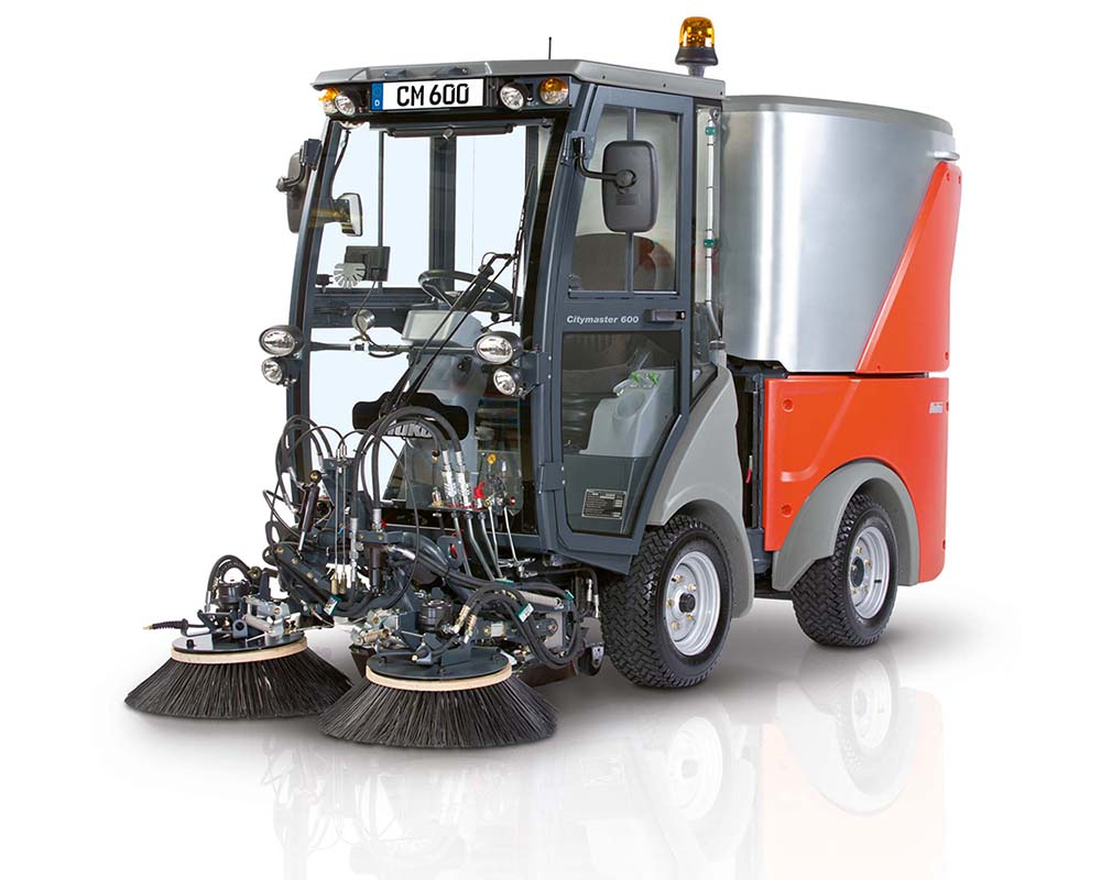 Citymaster 600 Compact Footpath & Street Sweeper