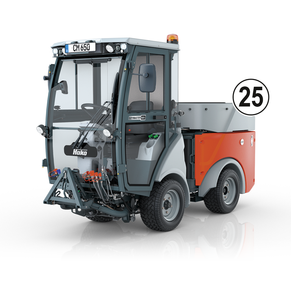 Citymaster 650 Multifunctional Outdoor Cleaning Machine