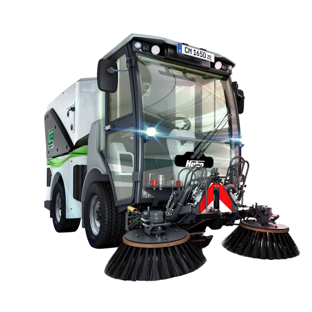 Citymaster 1650 ZE All-electric outdoor cleaning machine