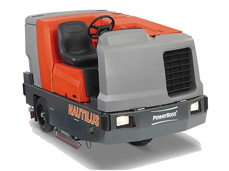 Powerboss Nautilus HD (Hi Dump) Scrubber Sweeper