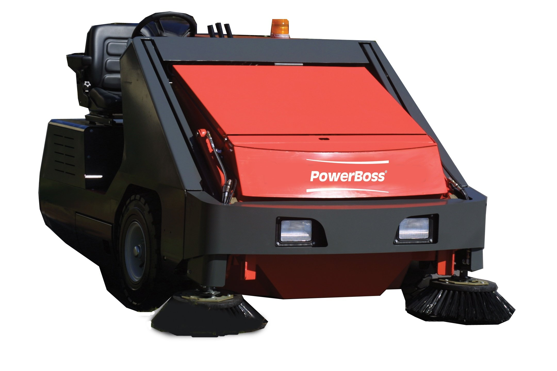 Powerboss 10X Industrial Floor Sweeper - Large