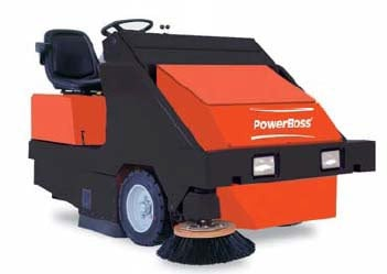 Powerboss 6XR Industrial Floor Sweeper