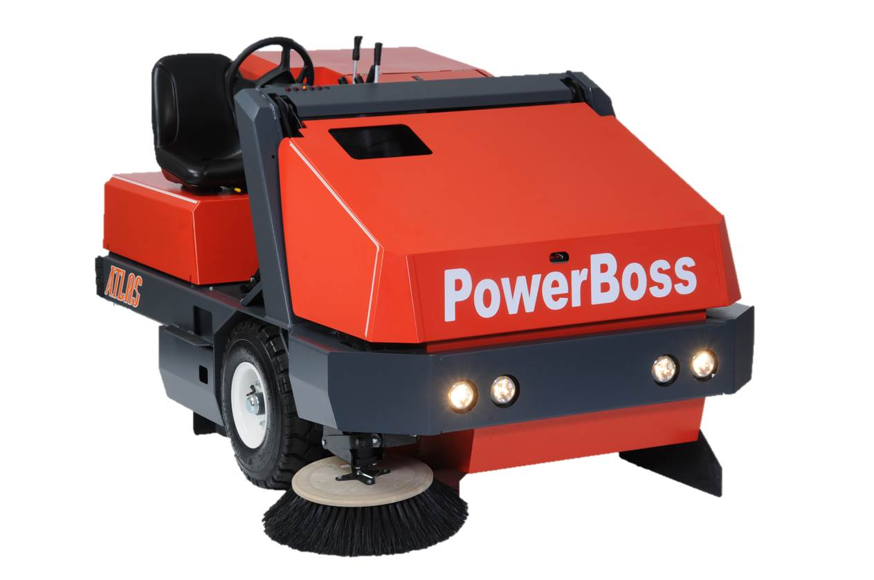 Powerboss Atlas Industrial Floor Sweeper