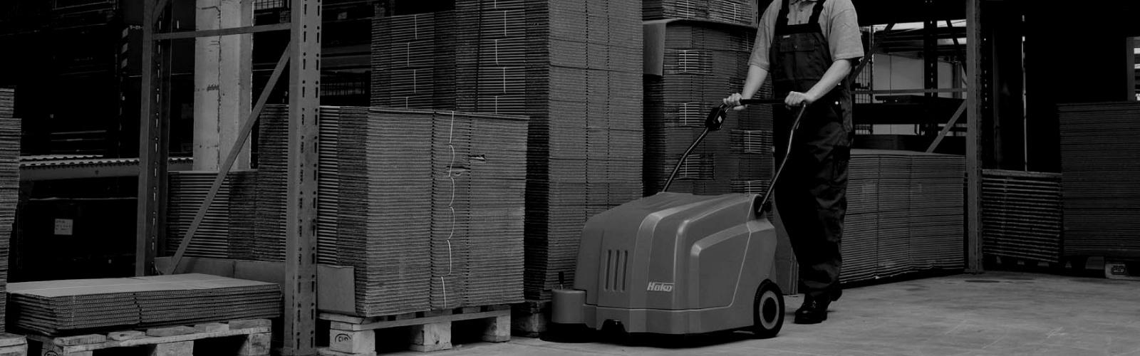Sweepmaster B500 Industrial Floor Sweeper or Carpet Area Vacuum