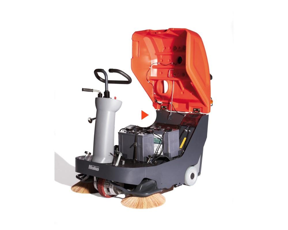 Sweepmaster B800 R Industrial Floor Sweeper or Carpet Area Vacuum