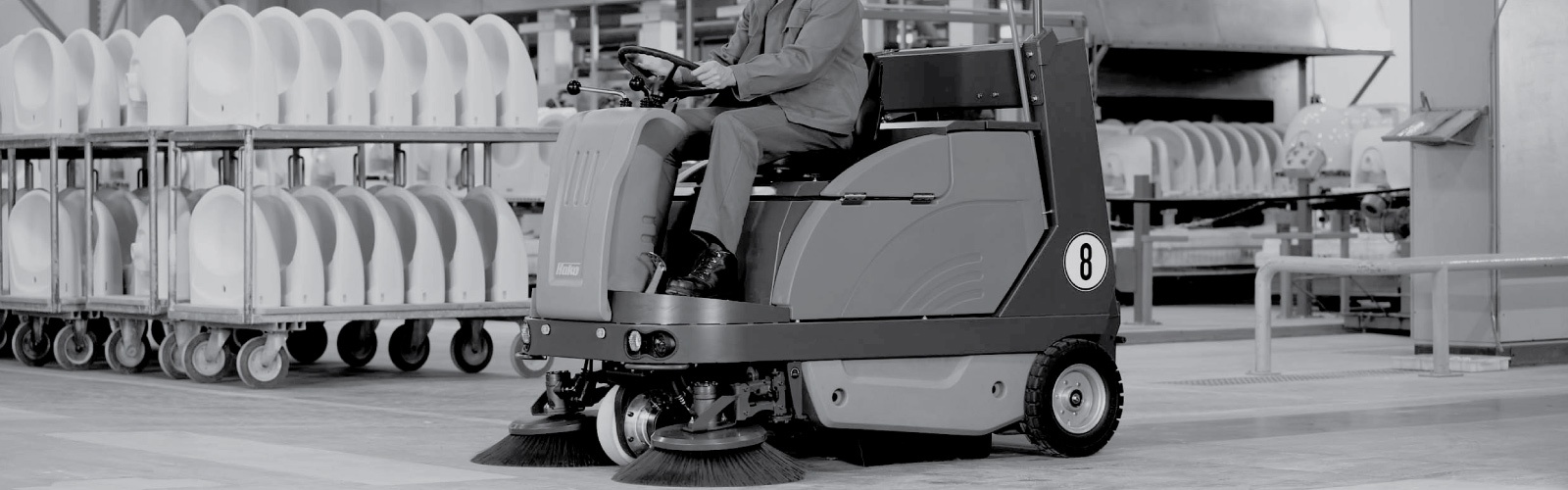Sweepmaster 1200 RH Industrial Floor Sweeper