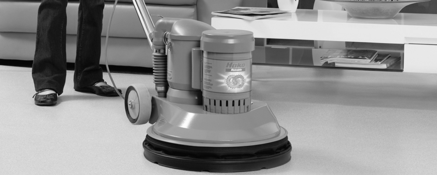 Rotobic Speedshine 1500E High Speed Burnisher with Passive Vacuum
