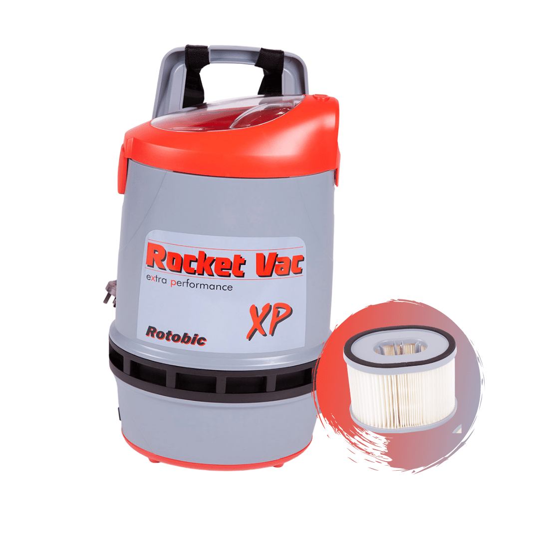 Rocket Vac XP Back Pack Vacuum - HEPA