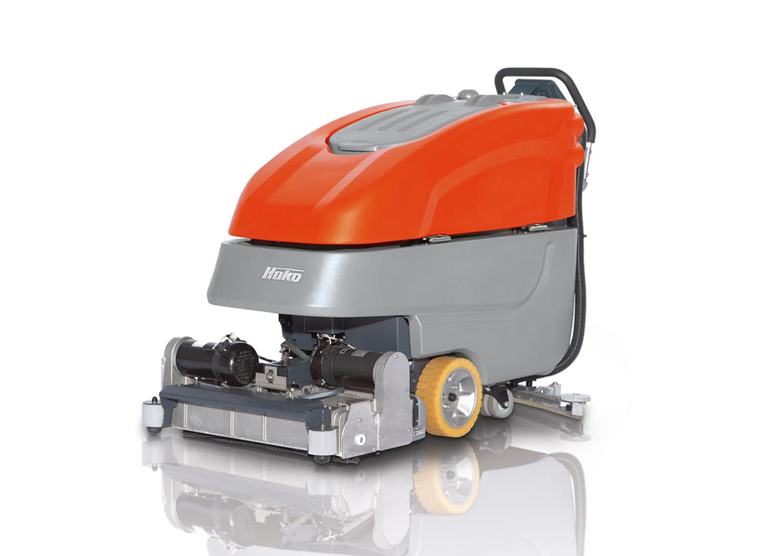 Scrubmaster B90 CL Industrial Battery Electric Floor Scrubber - 65cm-85cm