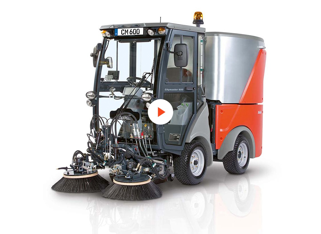 Citymaster 600 Compact Footpath Amp Street Sweeper